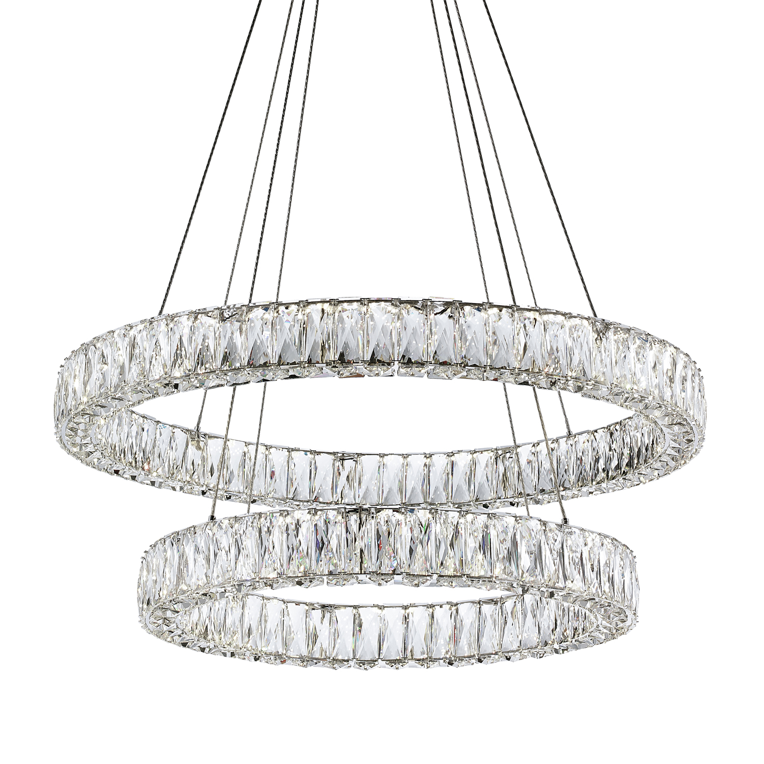 Solaris Two Ring Chandelier by Kuzco Lighting  a03eb31ed8
