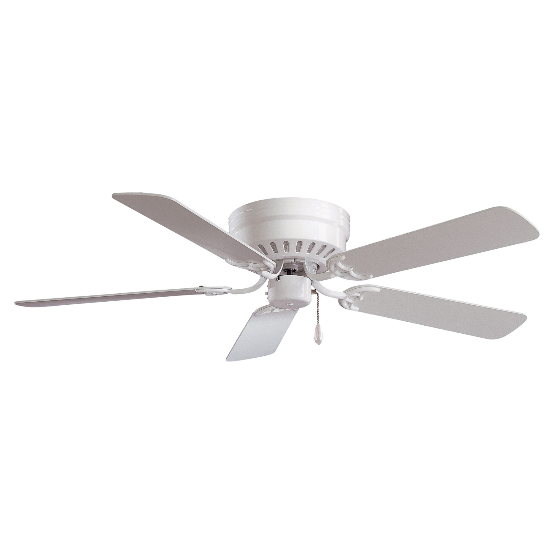 Mesa Flush Mount Ceiling Fan By Minka Aire F565 Wh