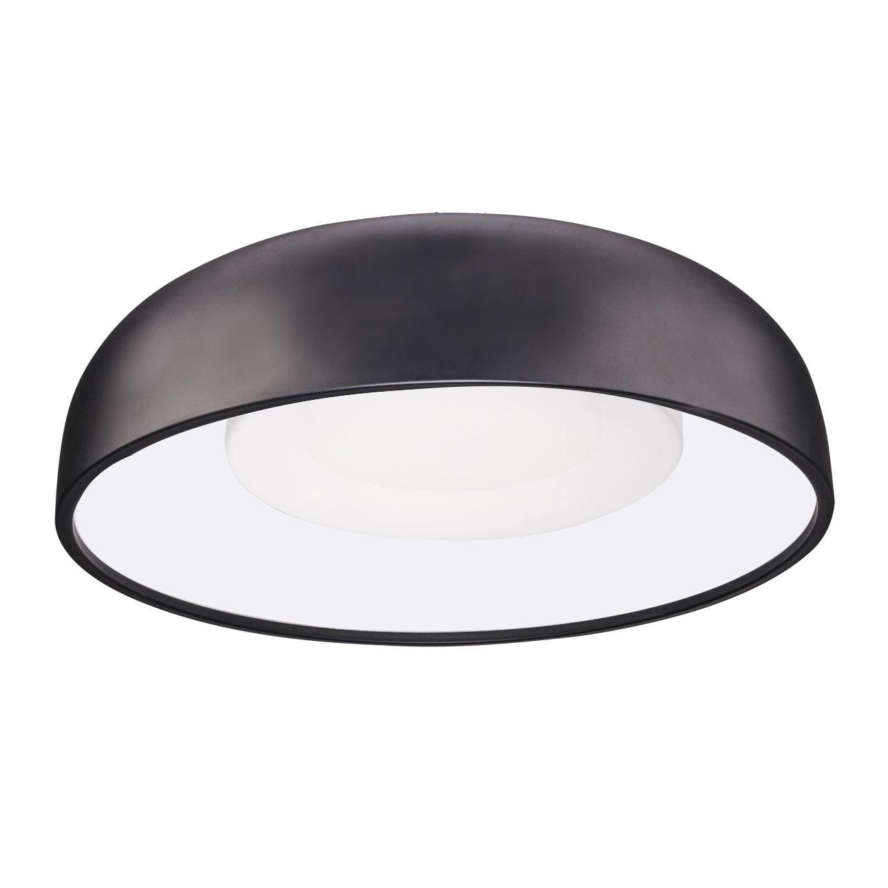Beacon flush mount ceiling light by kuzco lighting fm13120 bk aloadofball Choice Image