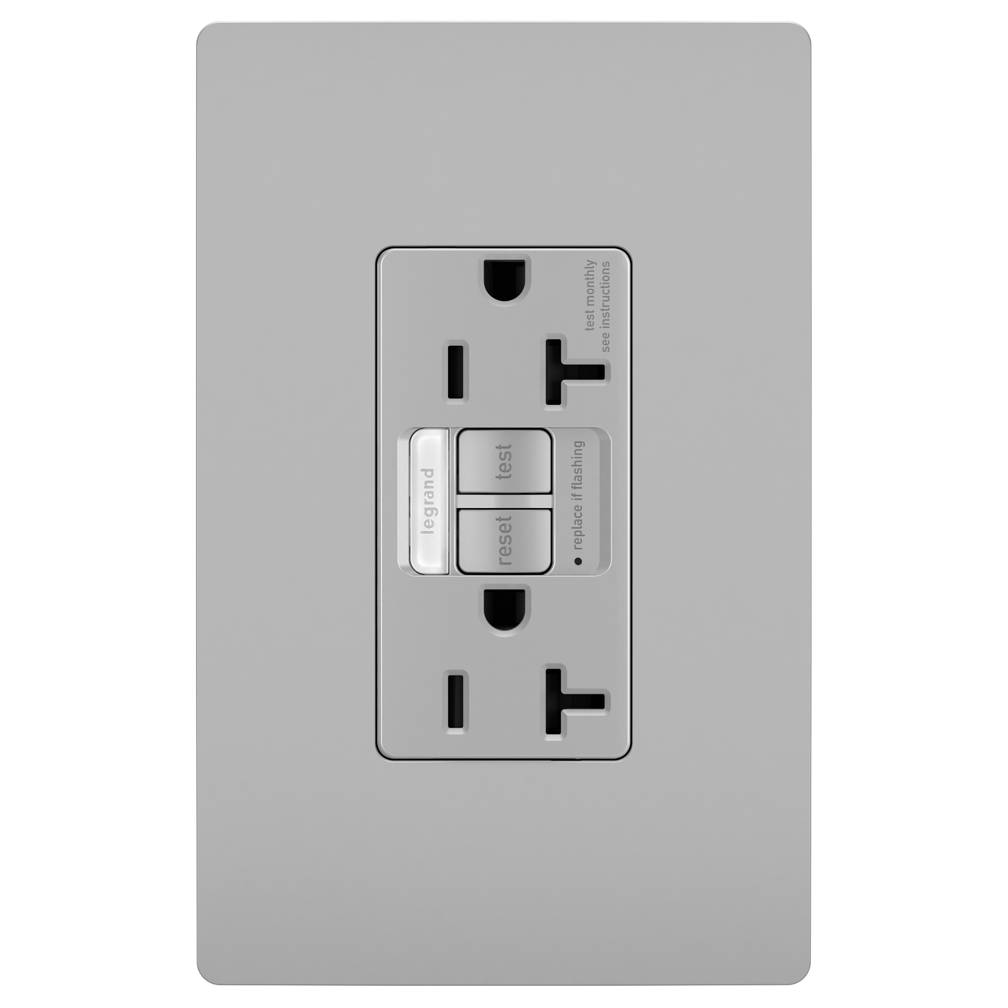 Tamper Resistant GFCI 20 Amp Outlet with Nightlight by Legrand ...