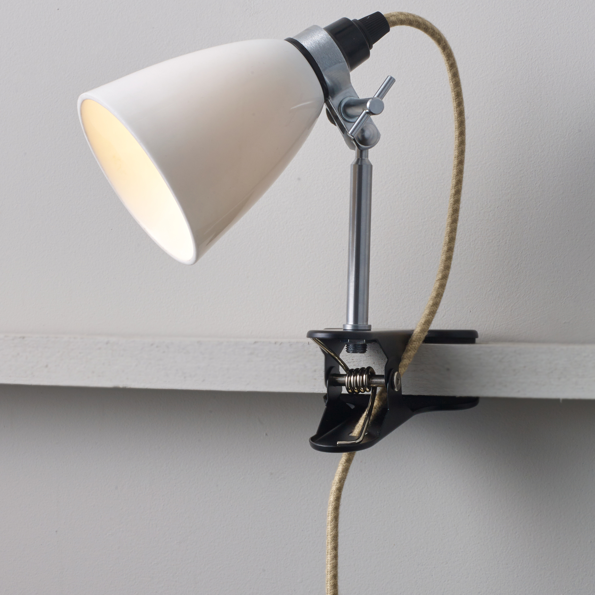 Hector dome clip table lamp by original btc bt fl344n aloadofball Image collections