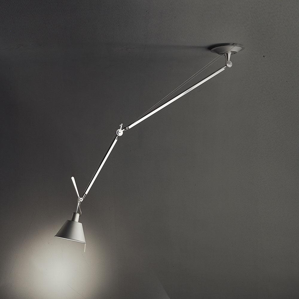 tolomeo off center suspension with aluminum shade by artemide tol1020 - Artemide Lighting