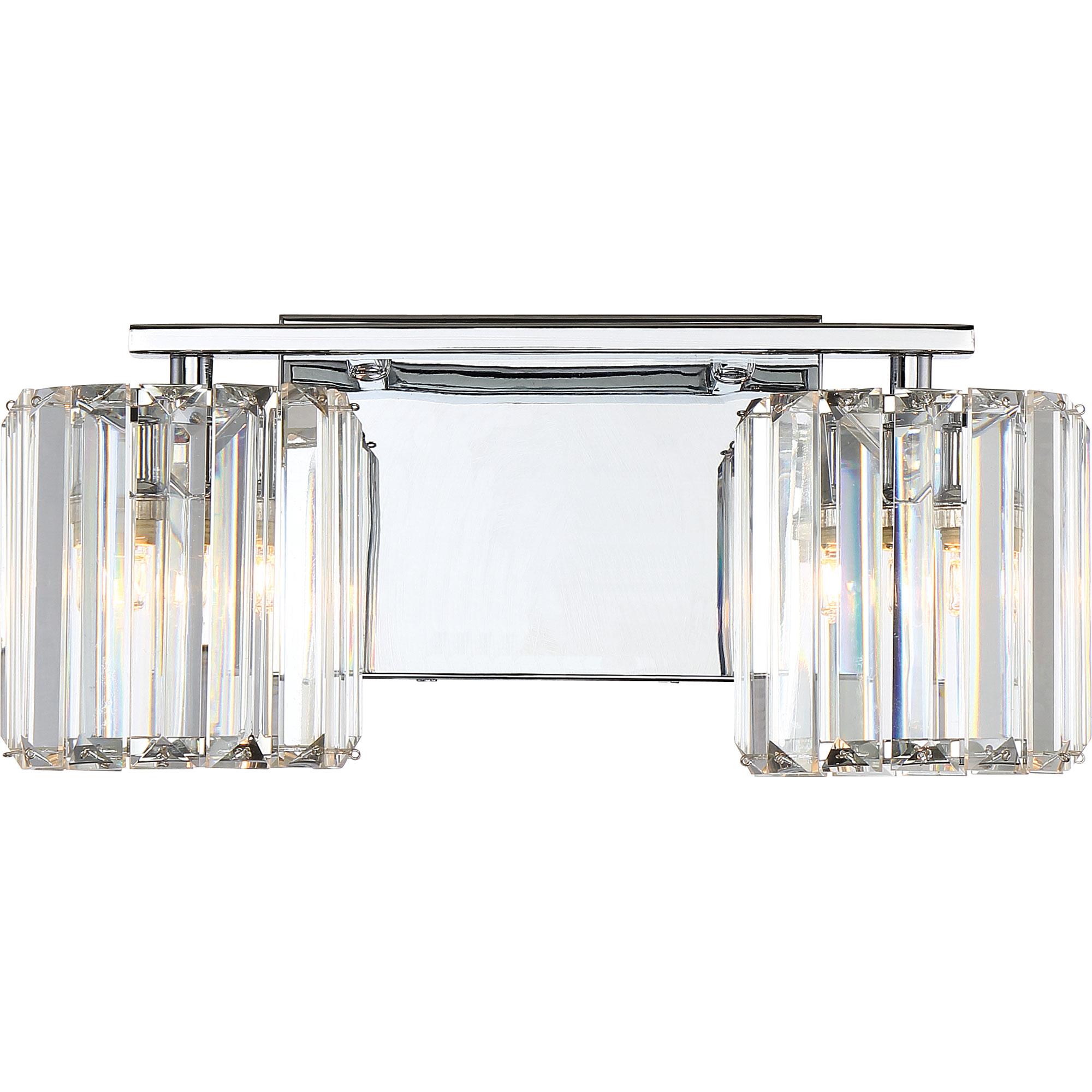 quoizel vanity light lighting platinum divine bathroom vanity light by quoizel pcdv8602cled