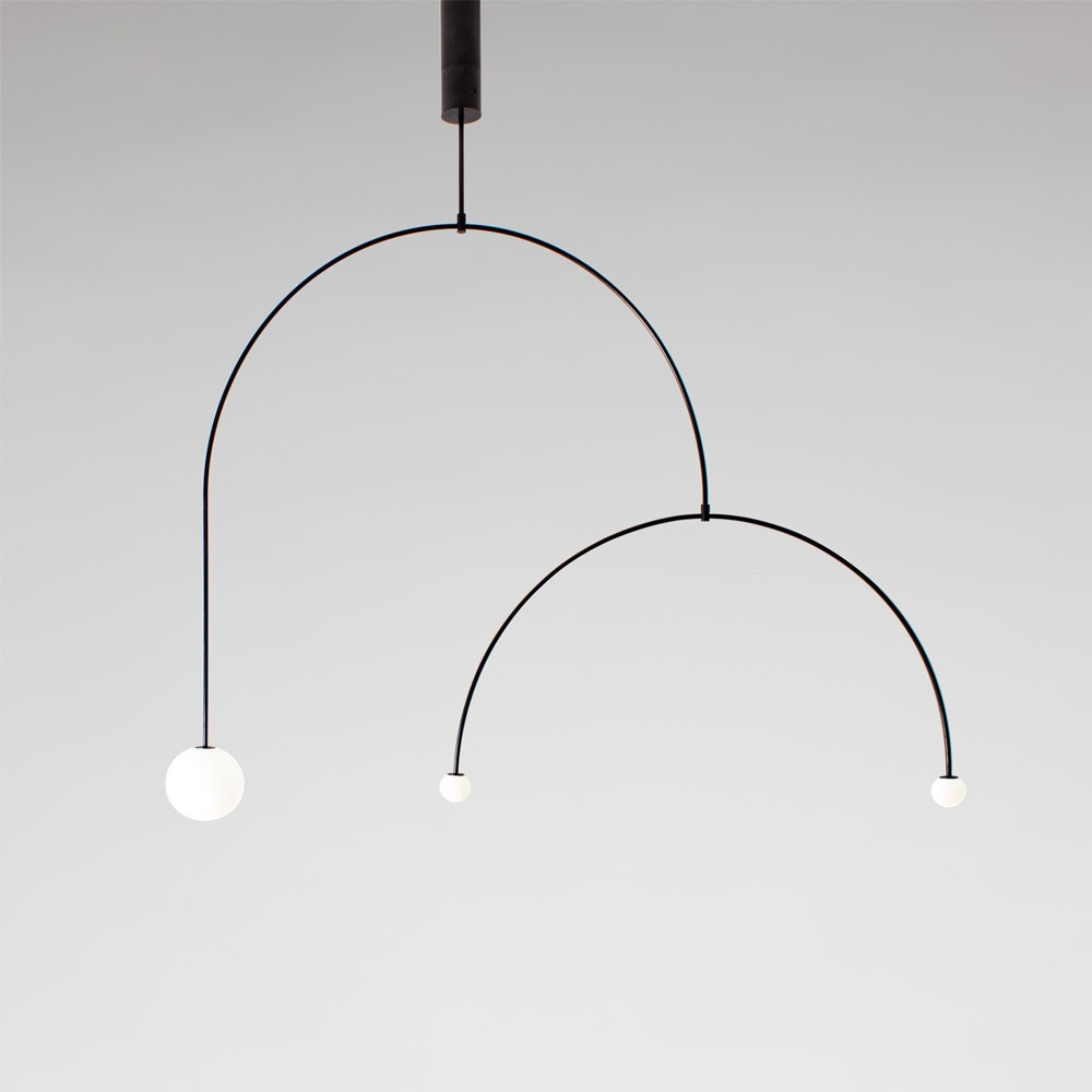 Mobile 9 chandelier by michael anastassiades ma mc9b aloadofball Image collections