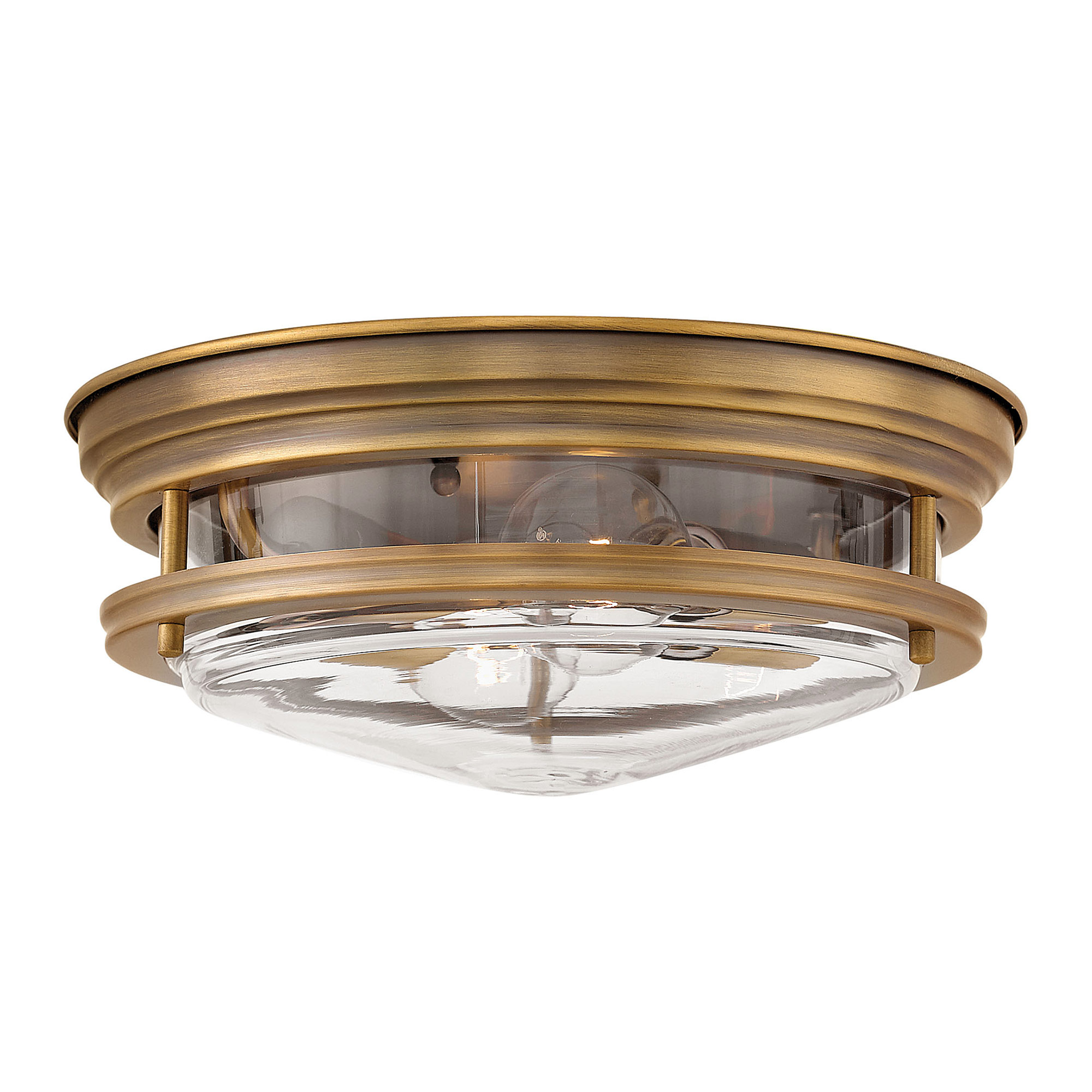 Hadley Clear Glass Ceiling Light Fixture by Hinkley Lighting | 3302BR-CL
