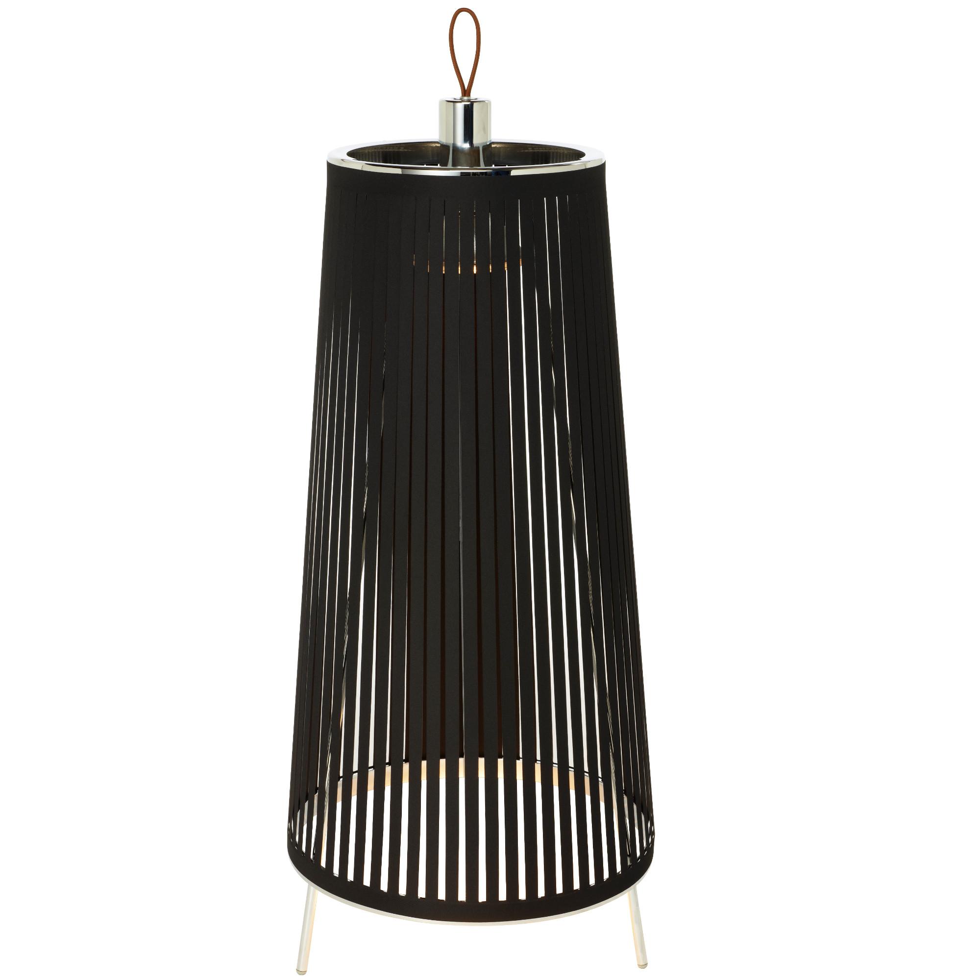 solis freestanding floor lamp by pablo soli fs 24 blk