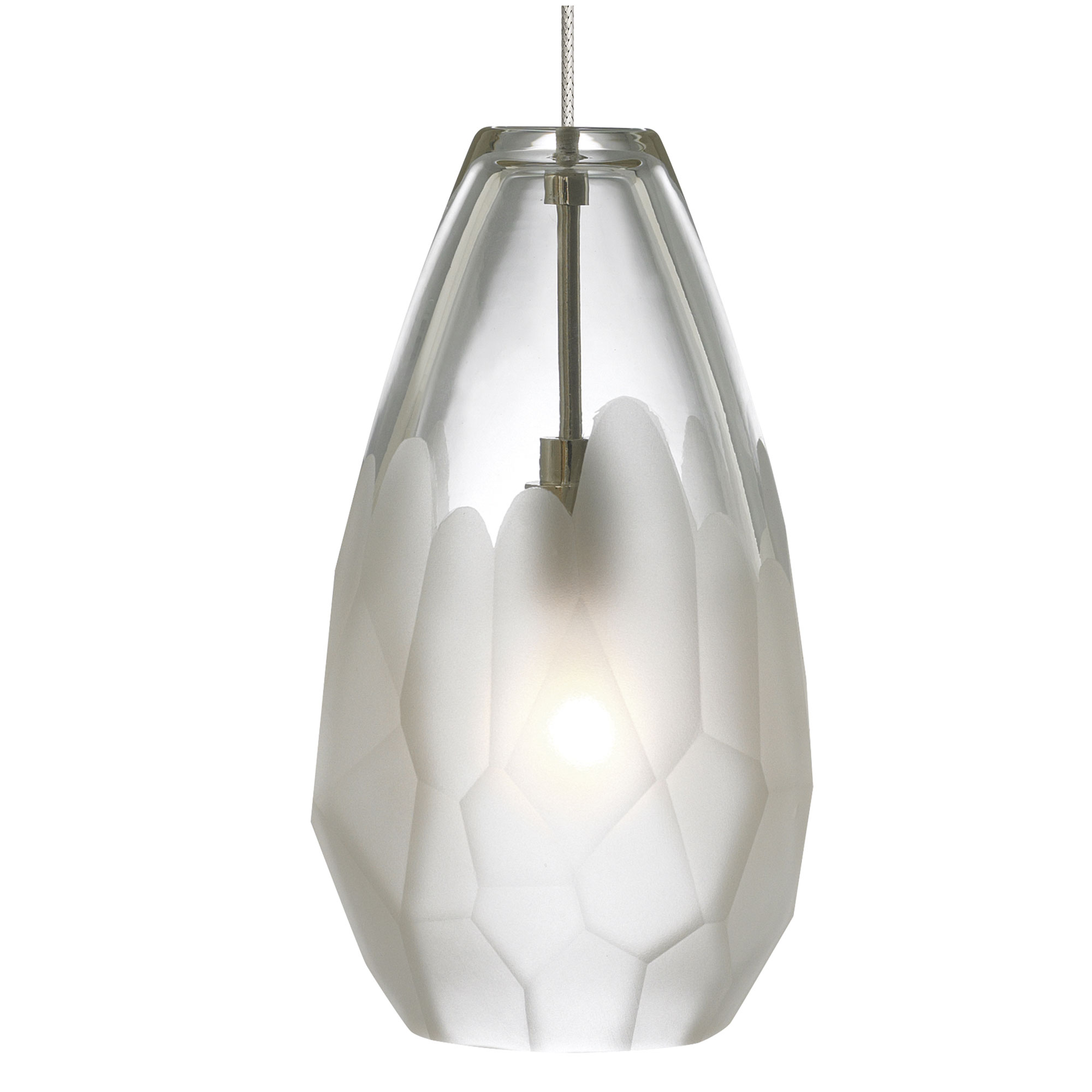 Briolette monopoint pendant by lbl lighting hs549frsc1bmpt