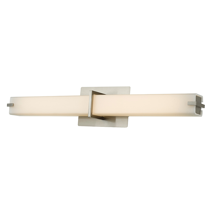 Squire Square LED Bathroom Vanity Light by Abra Lighting