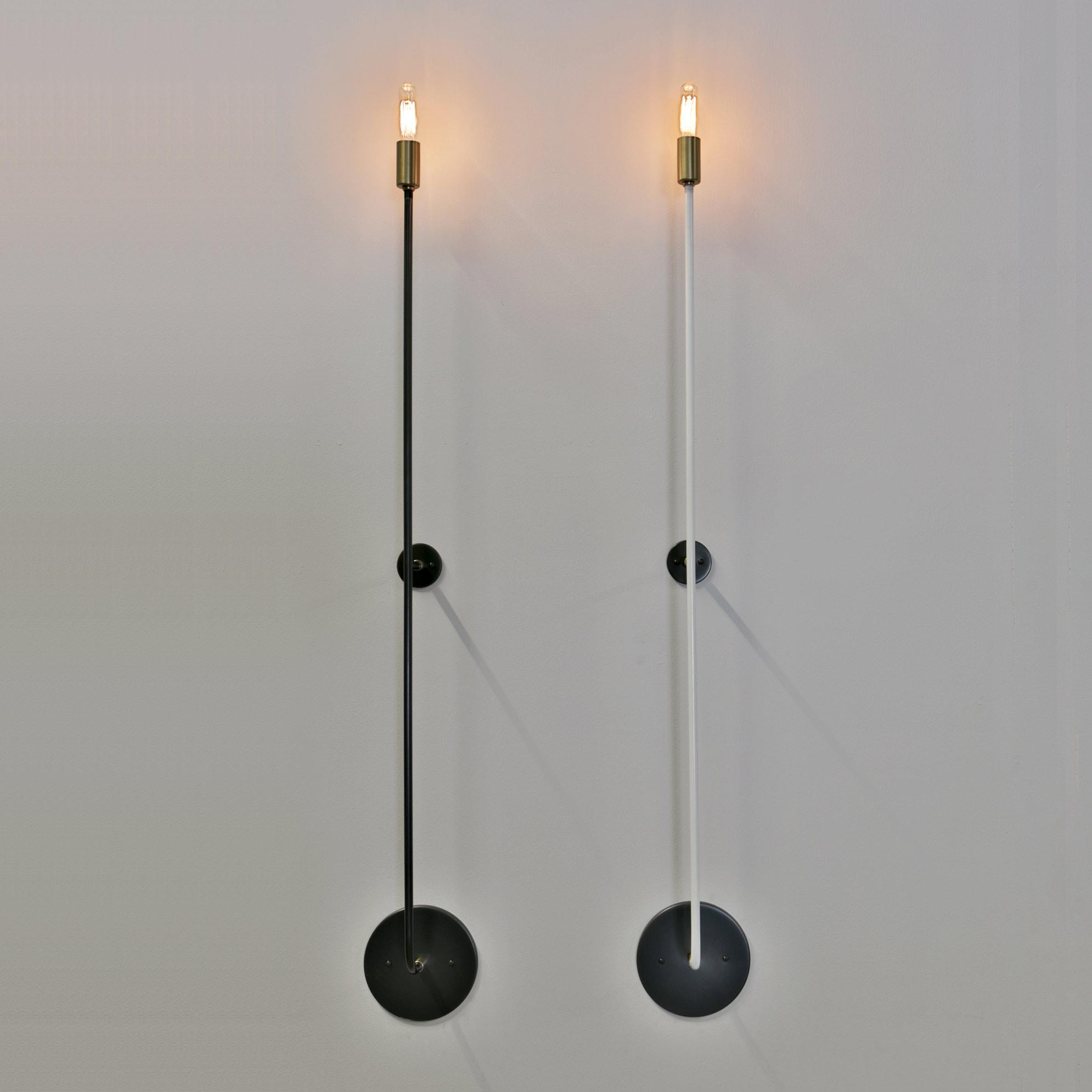 Stick Wall Light By John Beck Steel Jbsl Scb 38 Hw