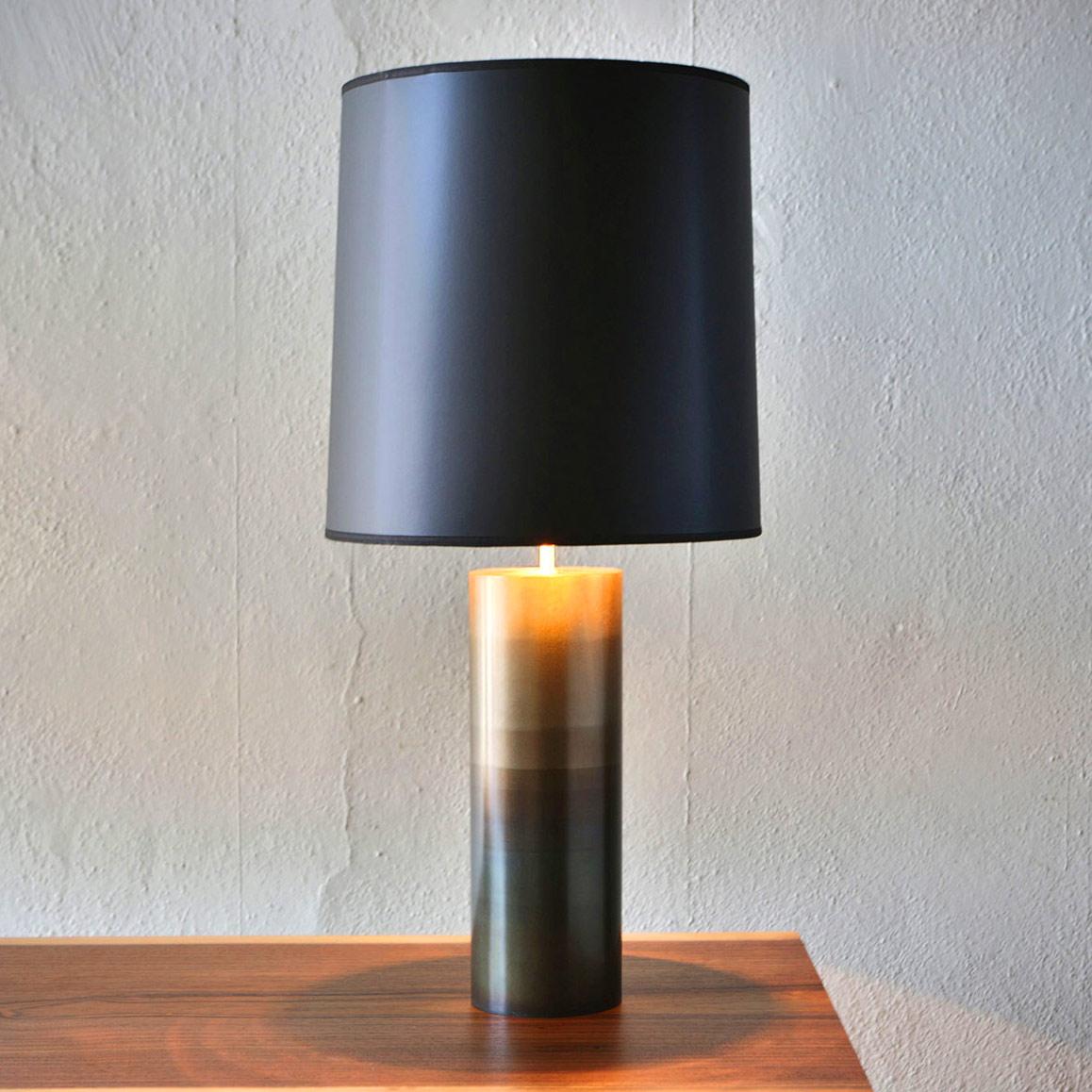 Round Table Lamp By John Beck Steel Jbsl Rtl