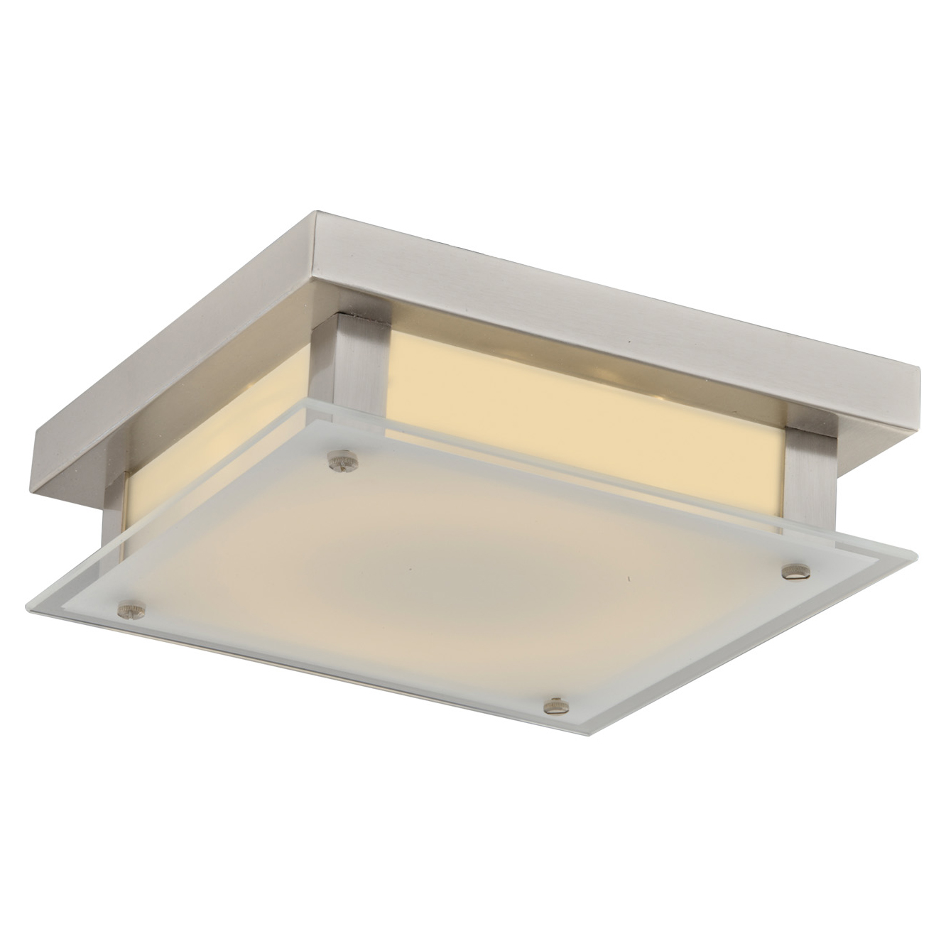 Cermack St Square Diffuser Ceiling Light Fixture By Avenue Lighting Hf1103 Bn