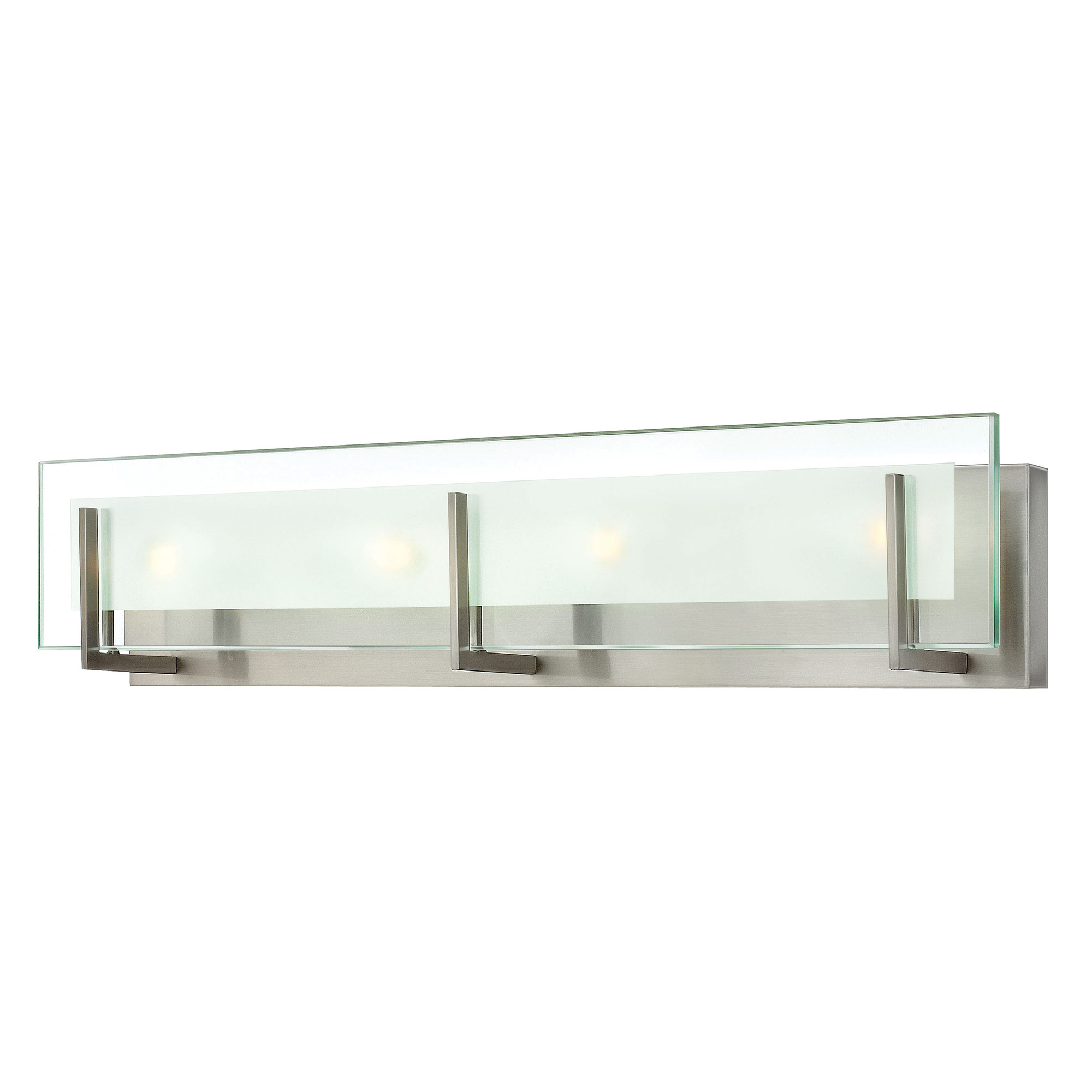 Latitude bathroom vanity light by hinkley lighting 5654bn - Images of bathroom vanity lighting ...