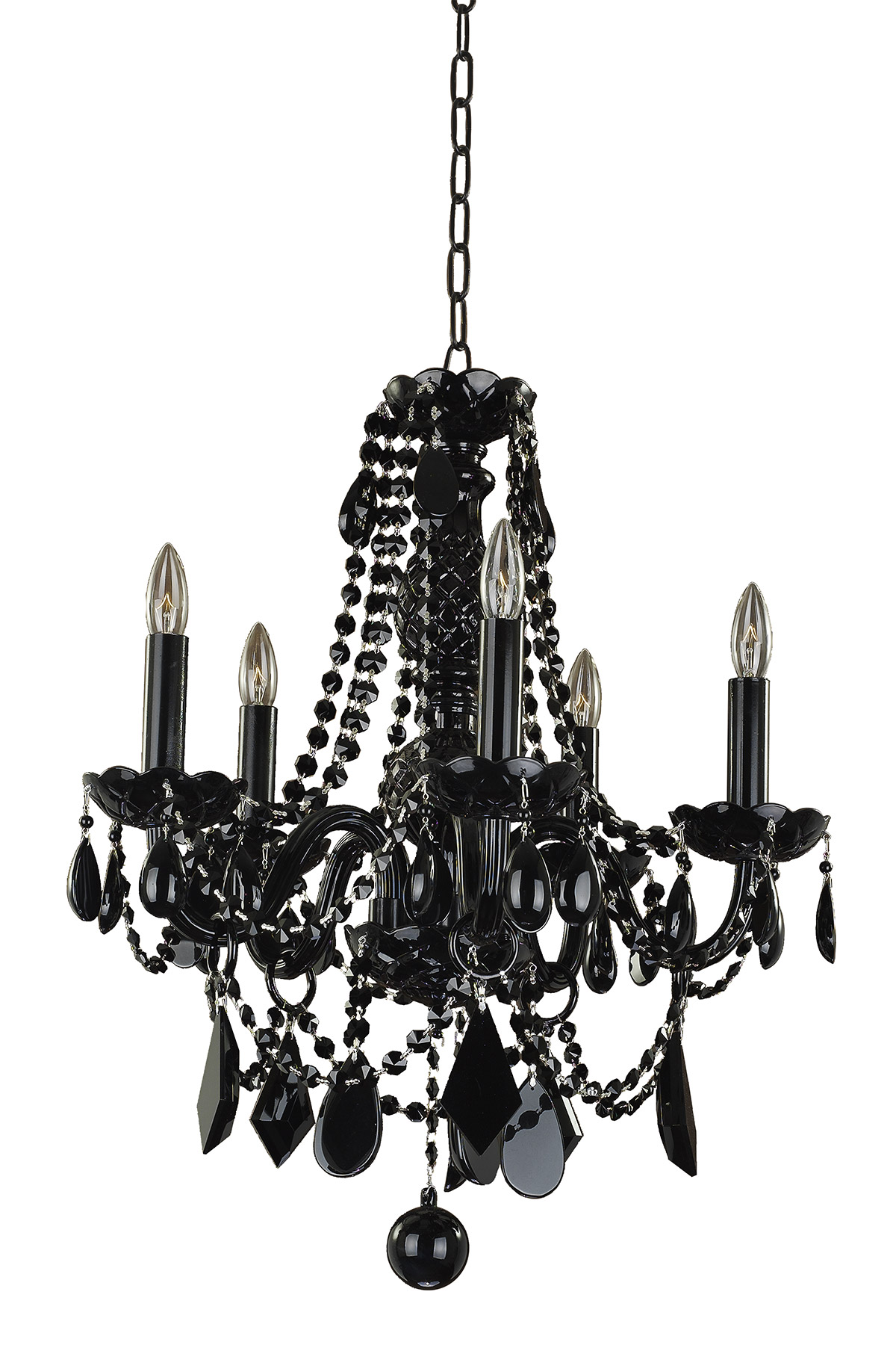 download image black tie 5 light chandelier by glow lighting 583jd5ljb 7j black chandelier lighting photo 5