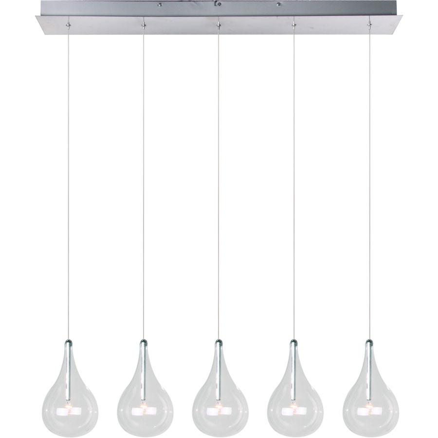 Multi Pendant Lighting Kitchen Linear Suspension By Et2 E23115 18