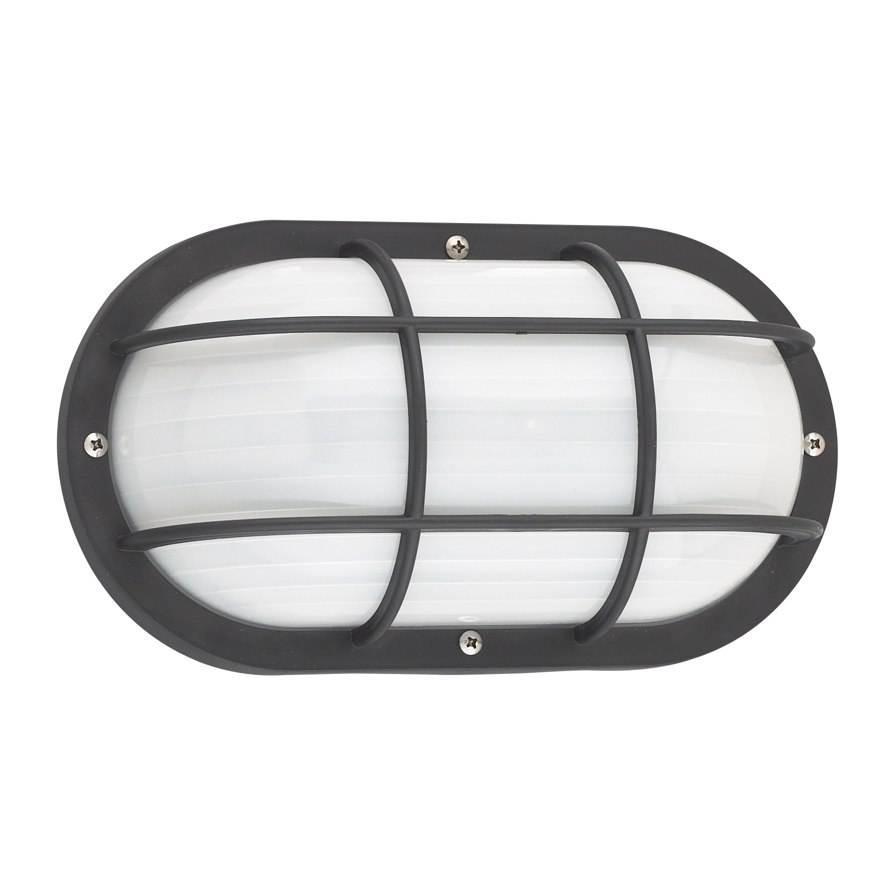 Bayside Oval Caged Wall Light By Sea