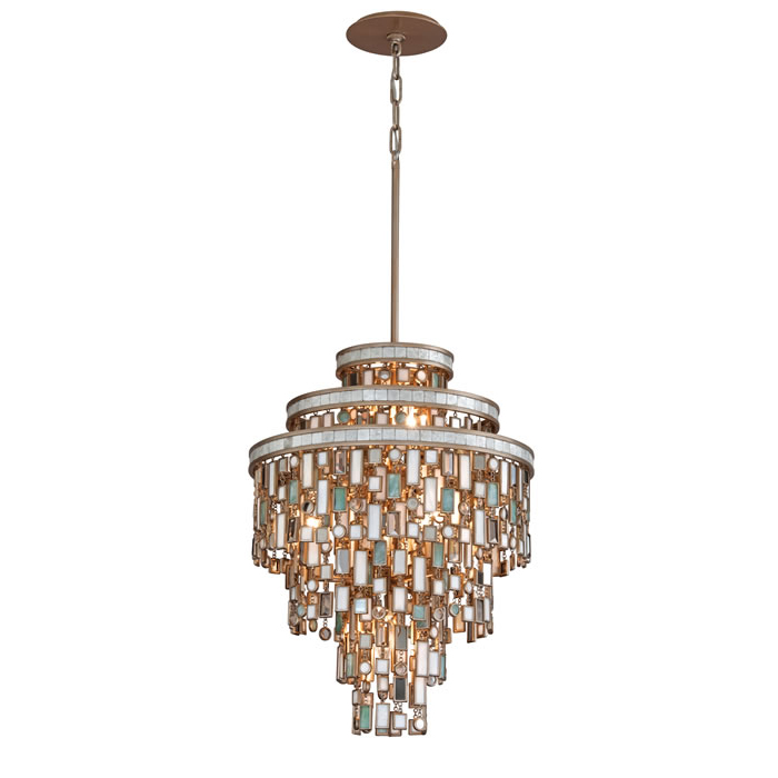 Dolcetti 7 light pendant by corbett lighting 142 47
