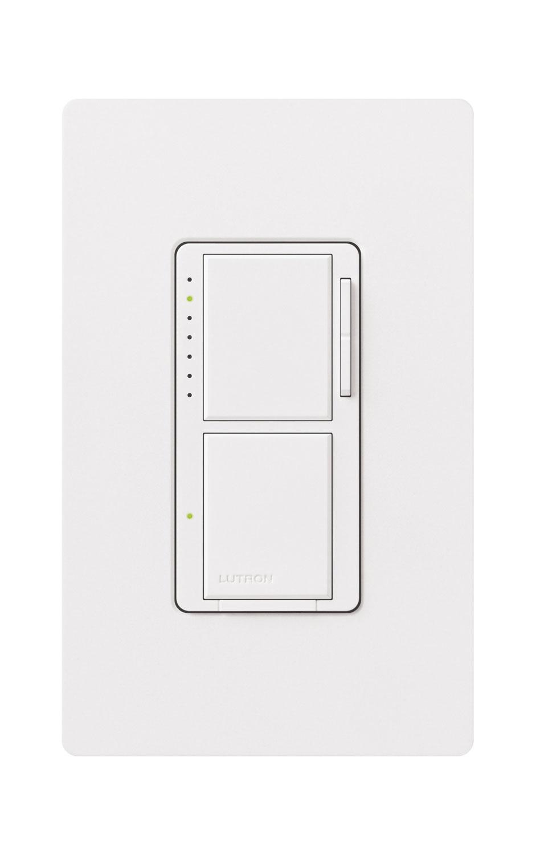Maestro 300w Dual Digital Fade Dimmer Swich By Lutron