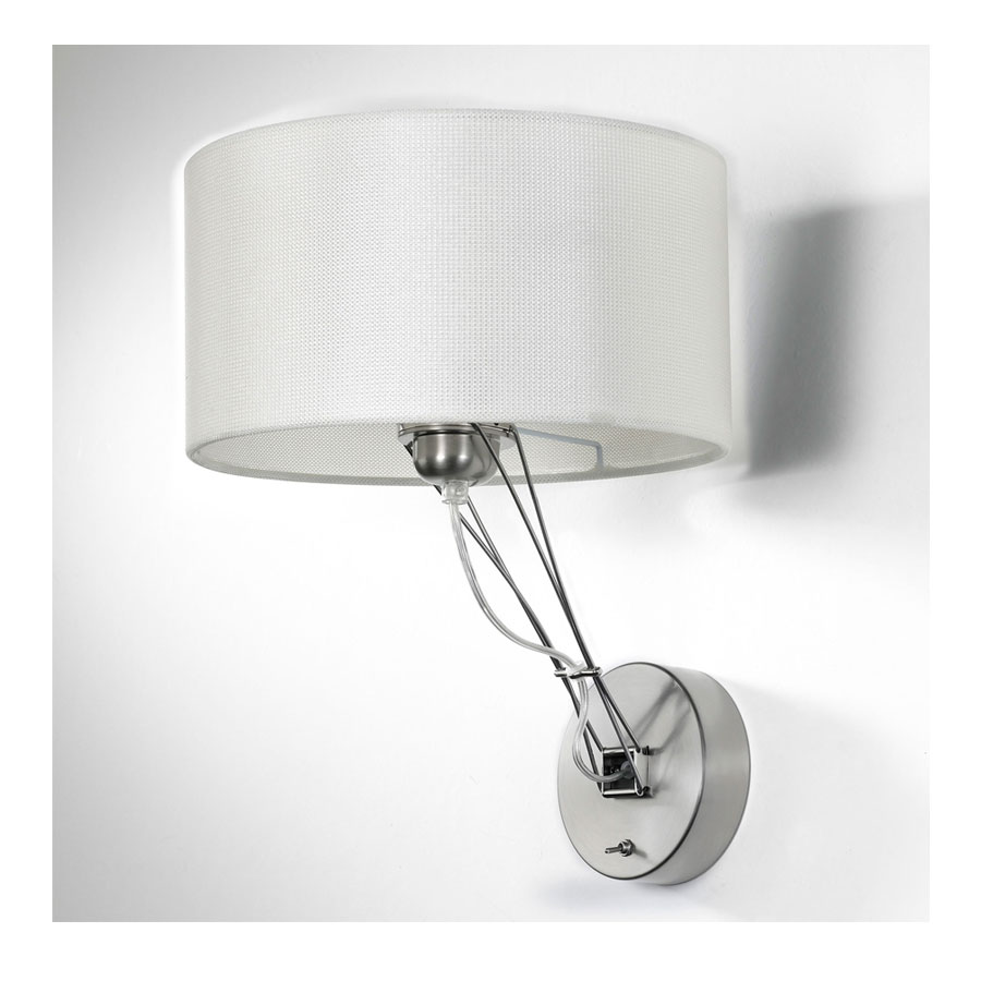 Wall Sconce With Turn Switch : Lizzy Wall Sconce W / On Off Switch by Lightology Collection LC-510-07/516-13
