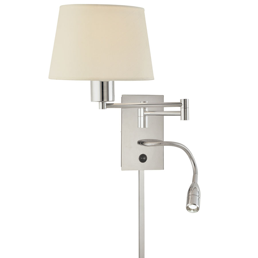 reading swing arm wall sconce by george kovacs  p - p reading swing arm wall sconce by george kovacs  p