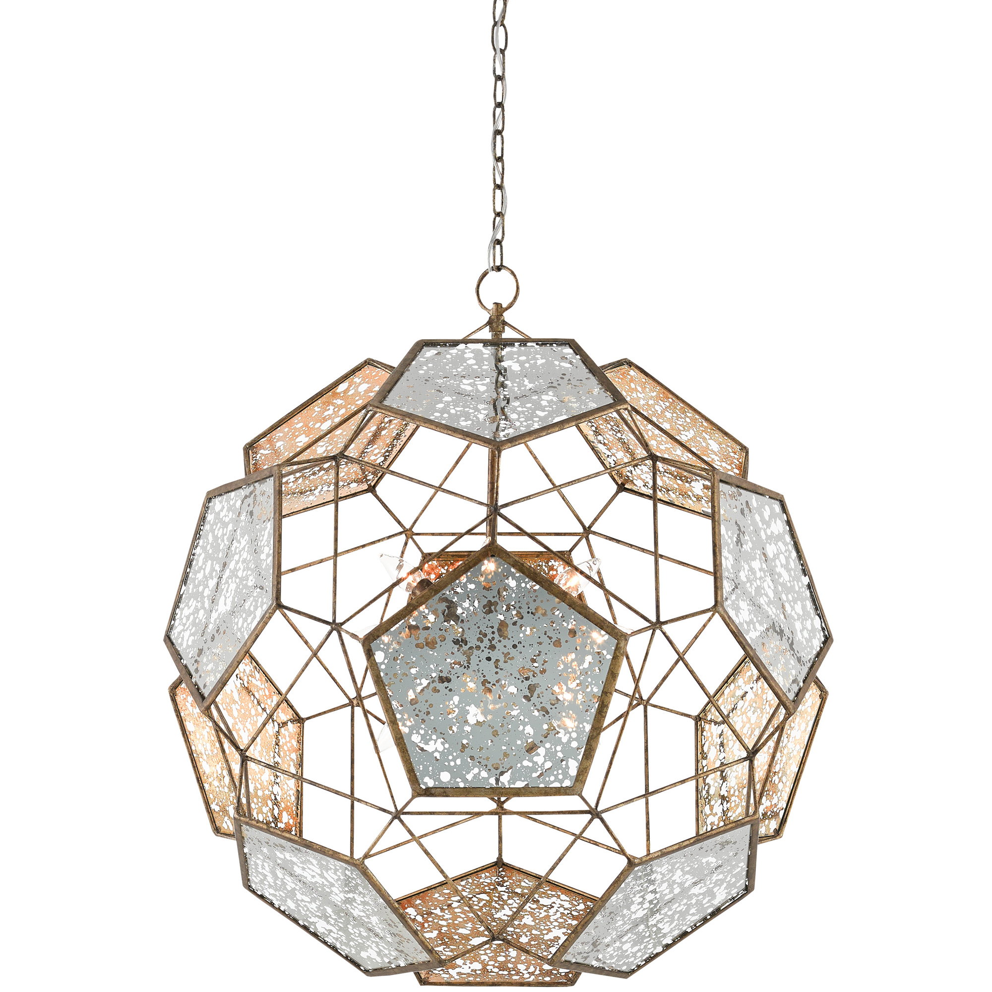 0322518d9d0594 Julius Orb Pendant by Currey and Company | 9000-0257-CC