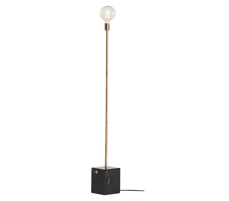 Slim Floor Lamp By Nuevo Hgsk222, Skinny Floor Lamp With Shelves
