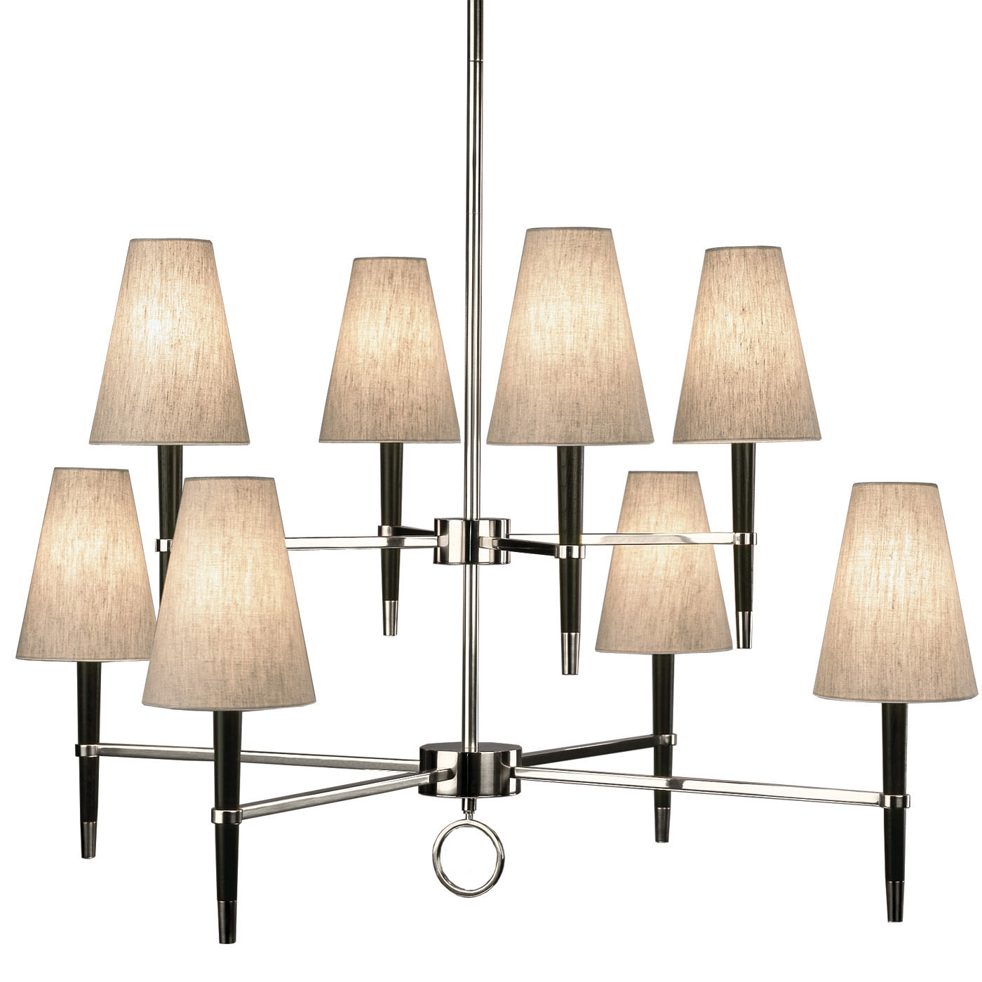 Two Tier Chandelier by Jonathan Adler