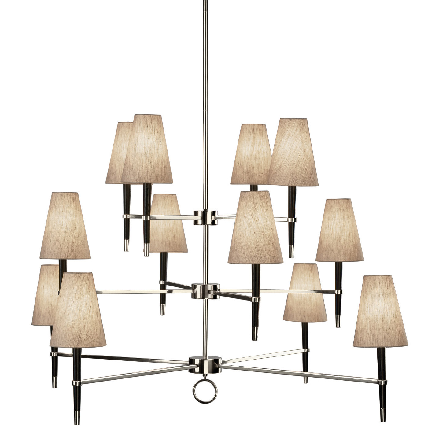 Three Tier Chandelier by Jonathan Adler