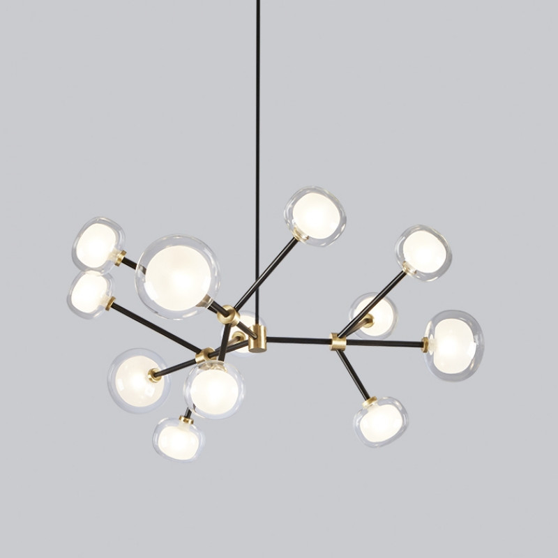 Round chandelier by tooy 68 55212bk nabila round chandelier by tooy 68 55212bk arubaitofo Image collections