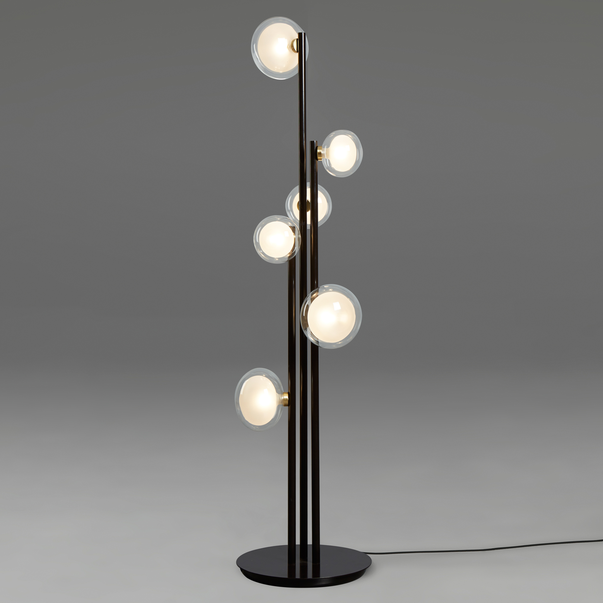La Floor Lamp By Tooy 68 552 66 Bk Br