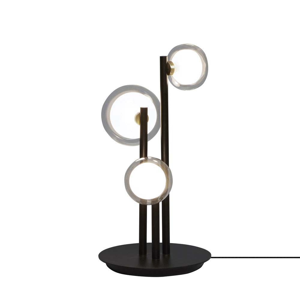 La Table Lamp By Tooy 68 552 33 Bk Br