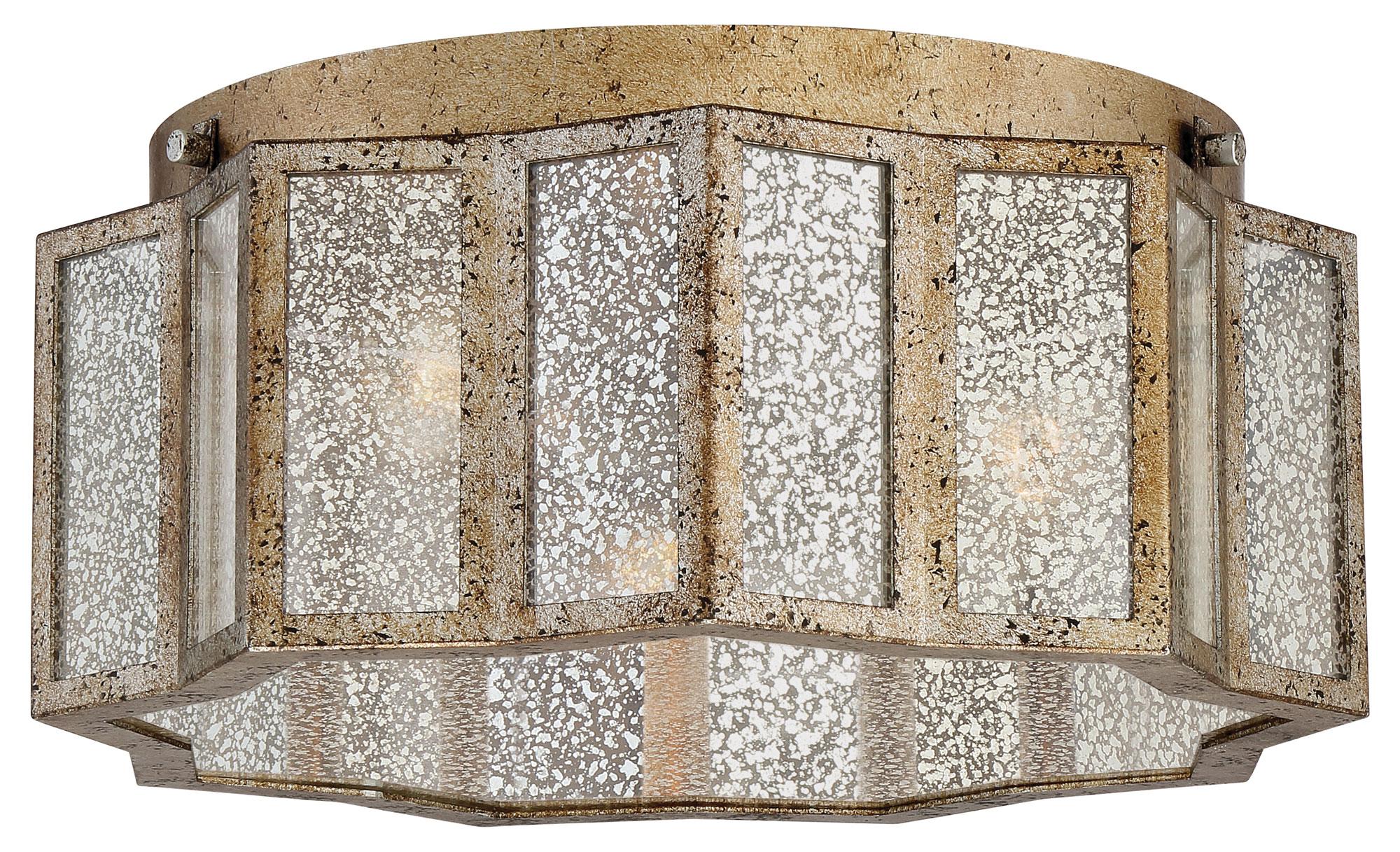 the best attitude 7ddf2 ce071 Shrine Flush Mount Ceiling Light by Quoizel   SRE1616AGL