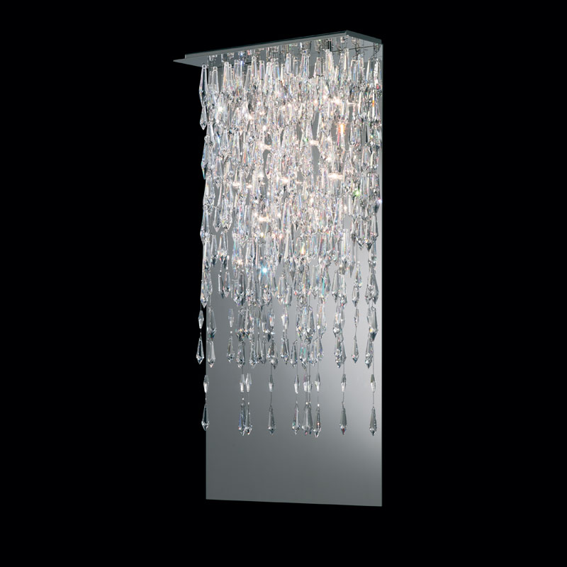 Crystalline Icicles Wall Sconce By Swarovski Scr615 Ss1