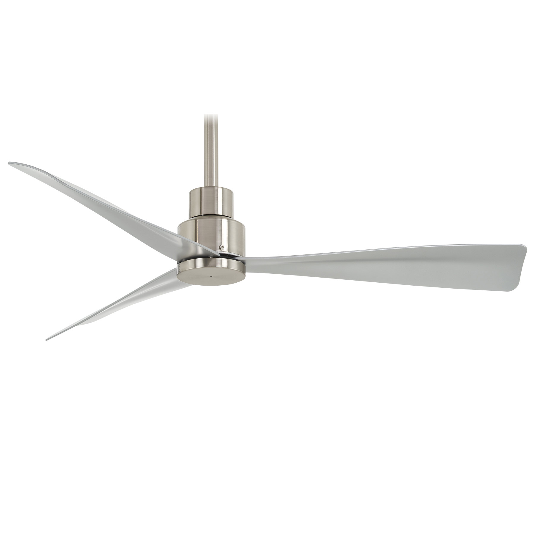 canfield product zoom loading ceiling fan nickel brushed ni fans inch products finish ceilings in