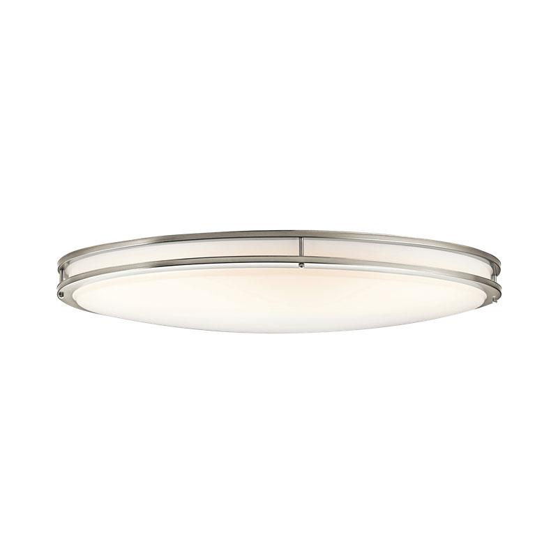 watch ba3f5 7c92c Avon Oval Flush Mount Ceiling Light by Kichler | 10789NILED