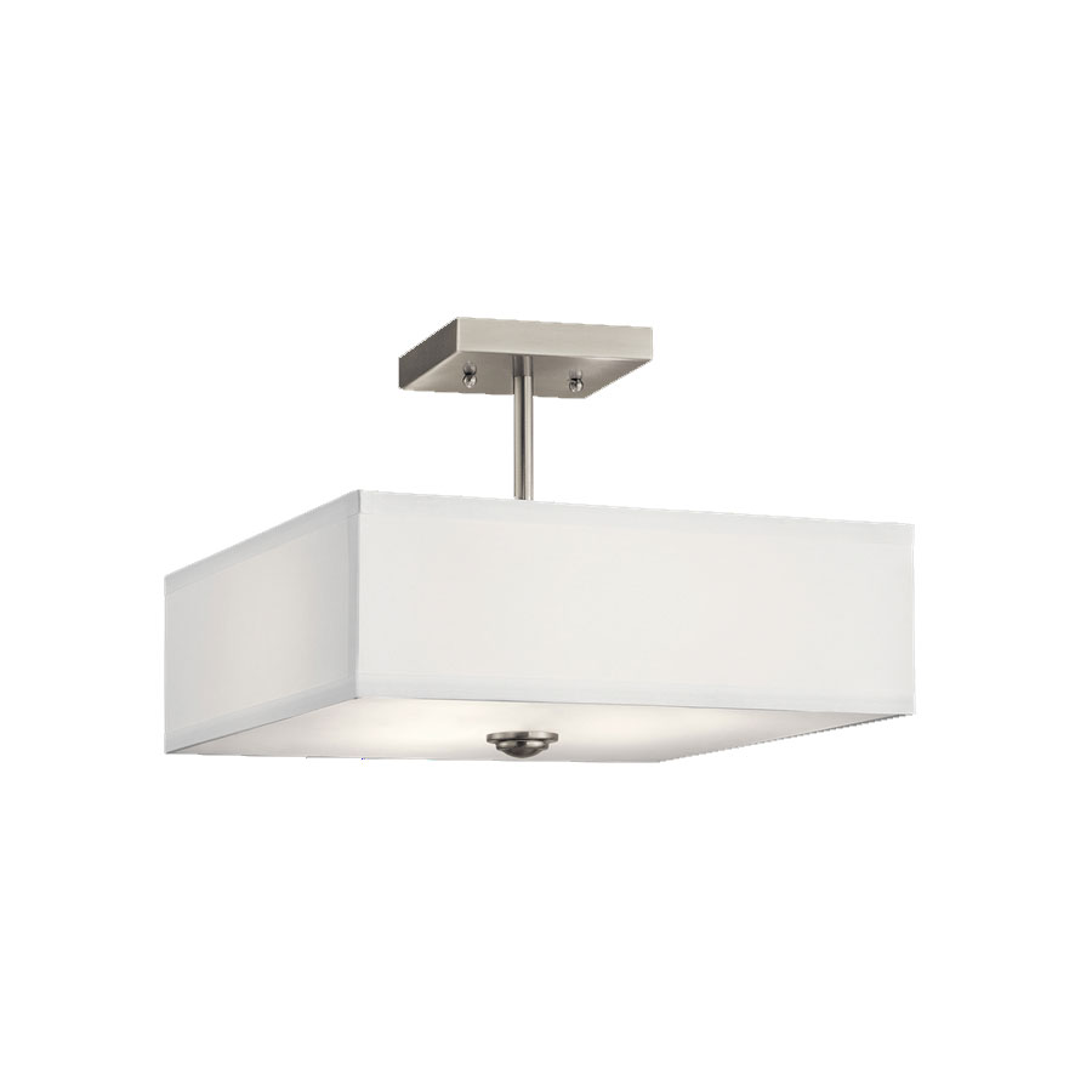 Shailene Square Semi Flush Ceiling Light By Kichler 43691ni