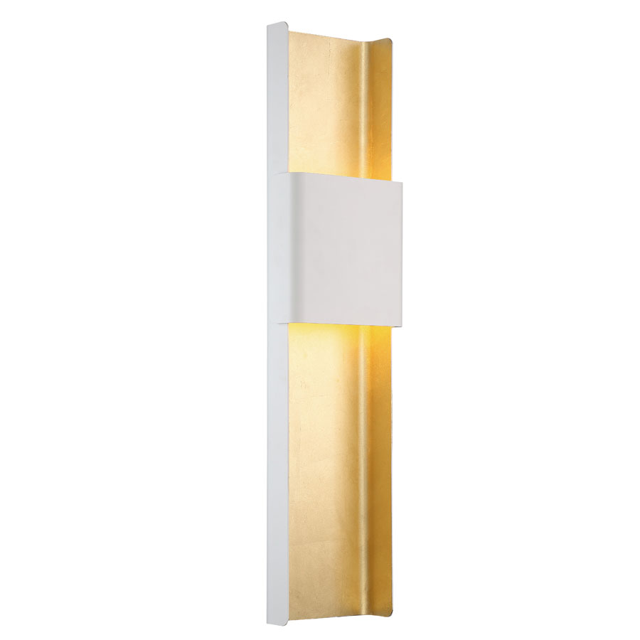Tribeca Wall Light By Modern Forms Ws 40832 Wt Gl