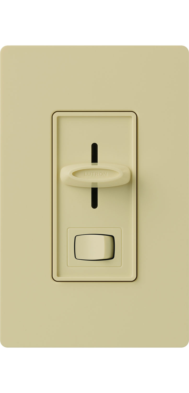 Skylark Single Pole 600w Incandescent Dimmer And Switch By Lutron Below Is A Controlling Flourescent Light