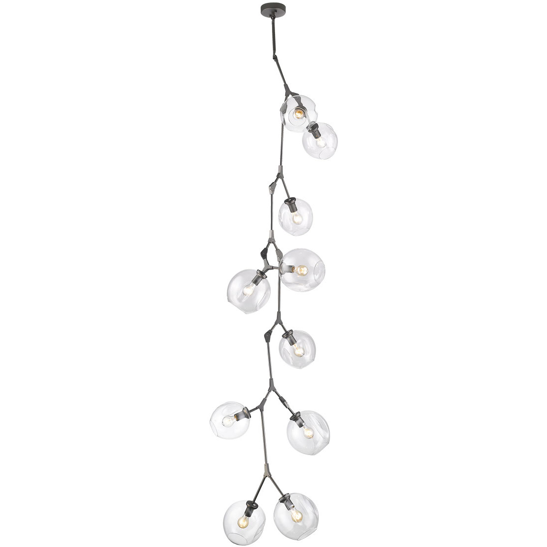 Vertical track lighting Minimalist Fairfax Vertical Chandelier By Avenue Lighting Flos Flos Usa Fairfax Vertical Chandelier By Avenue Lighting Hf8080dbz