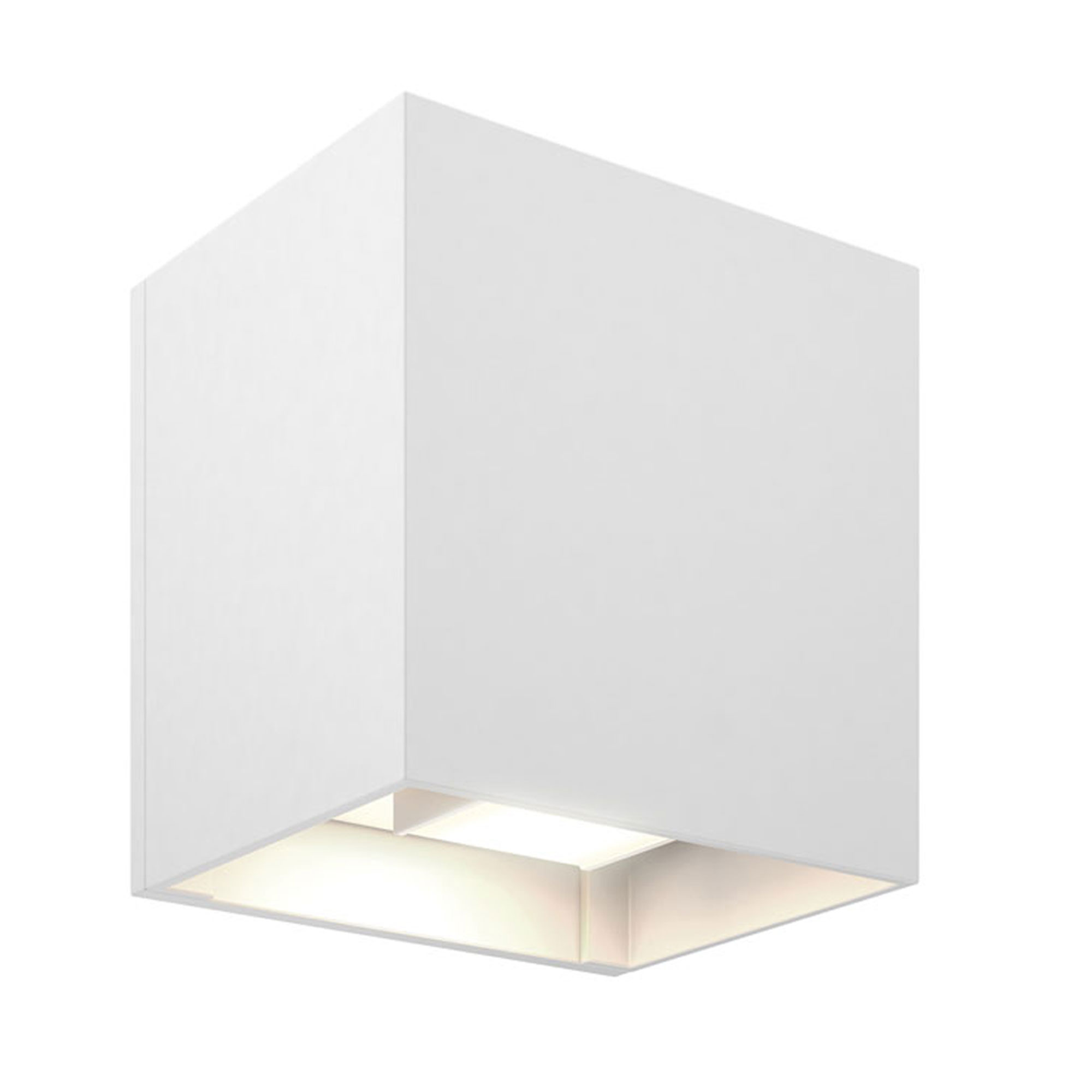 official photos 0cb09 811f1 LEDWALL-G Cube Outdoor Wall Sconce by DALS Lighting | LEDWALL-G-WH