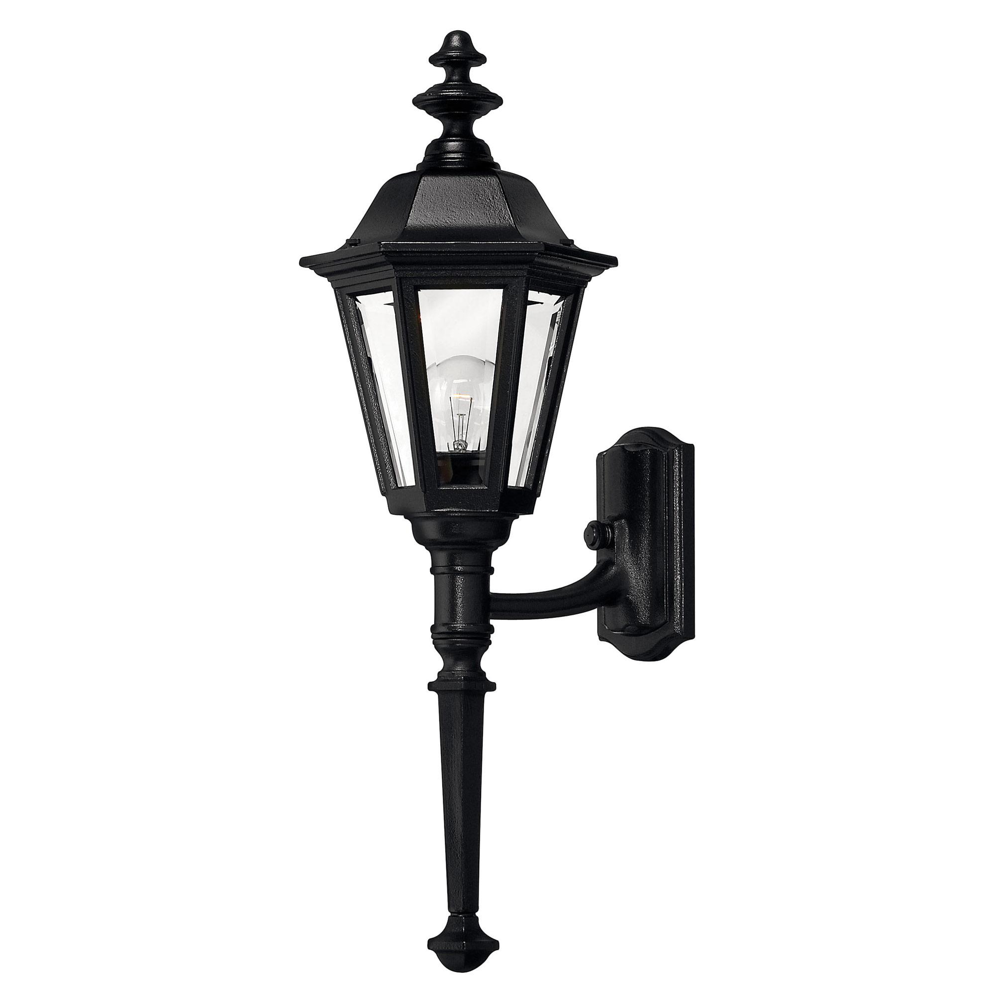Manor House Long Stem Outdoor Wall Light By Hinkley Lighting 1410bk