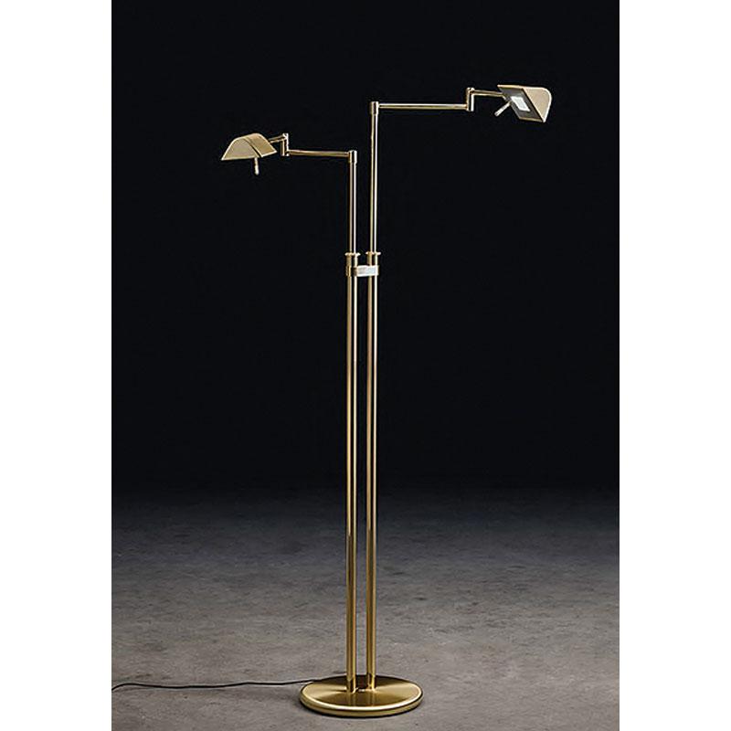 9802 Twin Led Floor Lamp By Holtkoetter, Holtkoetter Floor Lamps