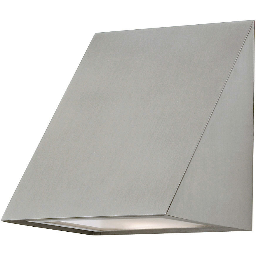 Wedge Exterior Wall Lights : Wedge Outdoor Wall Sconce by Stone Lighting WO807SSMB4