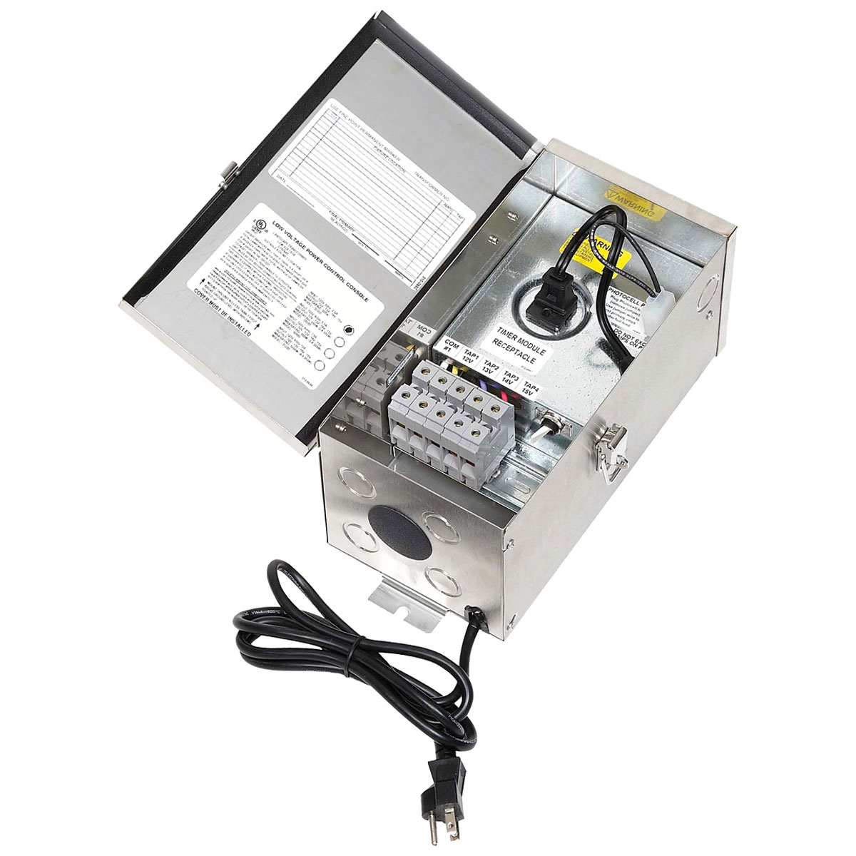 300 Watt 12-15 Volt Multitap Outdoor Transformer by Hadco by Signify |  TC354-15