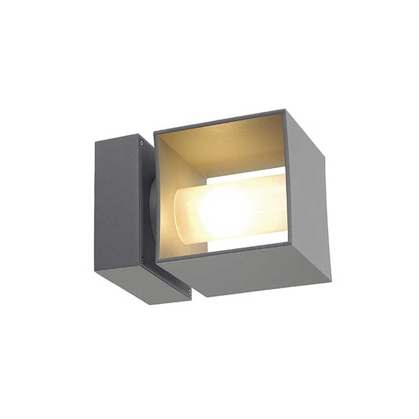 Square Turn G9 Exterior Wall Sconce by SLV Lighting | 230674U