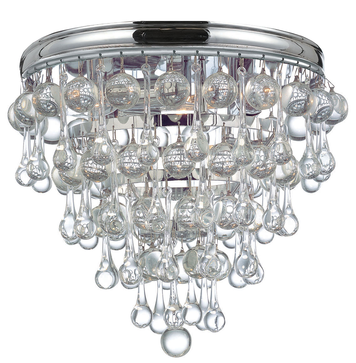 Calypso Ceiling Light Fixture By Crystorama 135 Ch