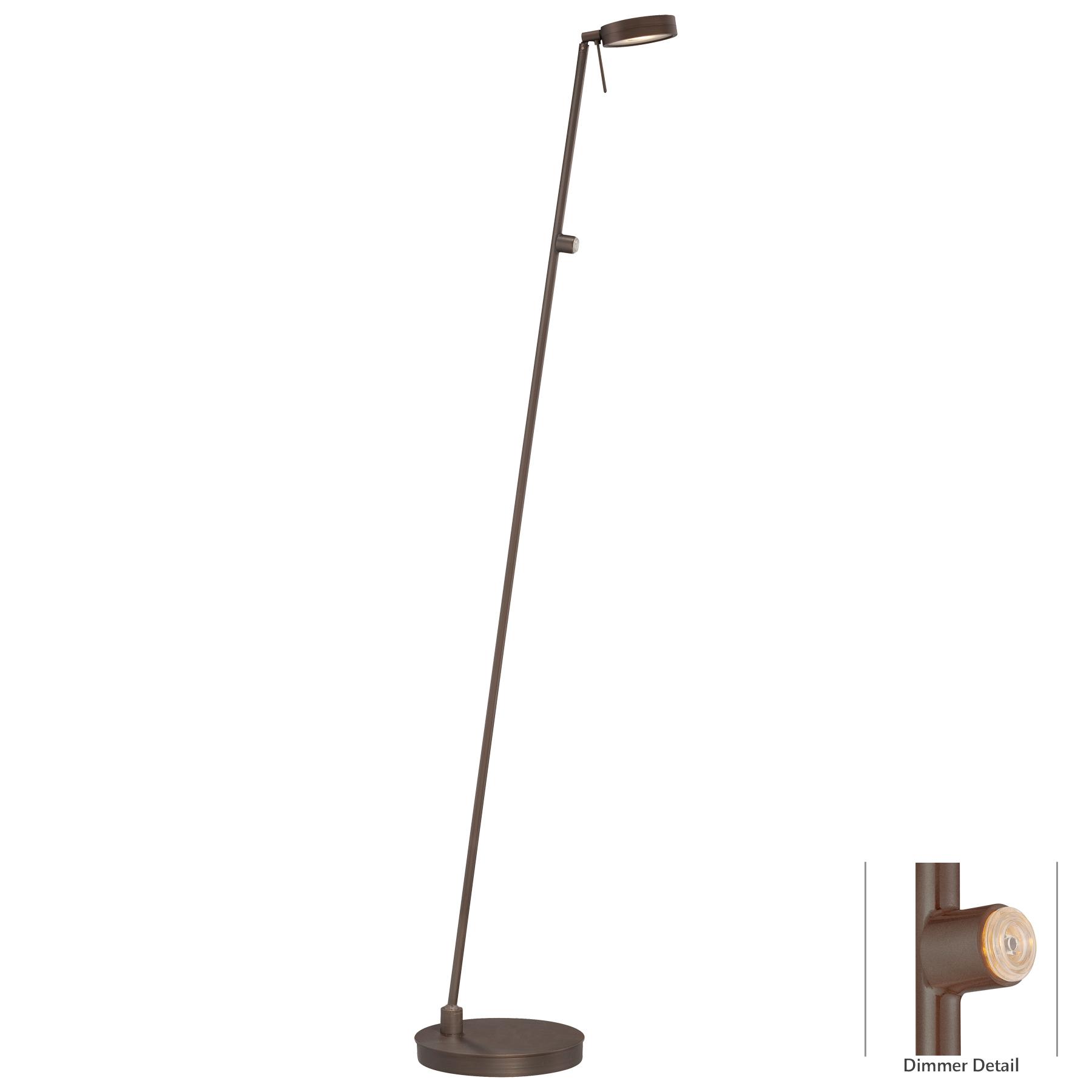 p4304 led pharmacy floor lamp by george kovacs p4304 647. Black Bedroom Furniture Sets. Home Design Ideas
