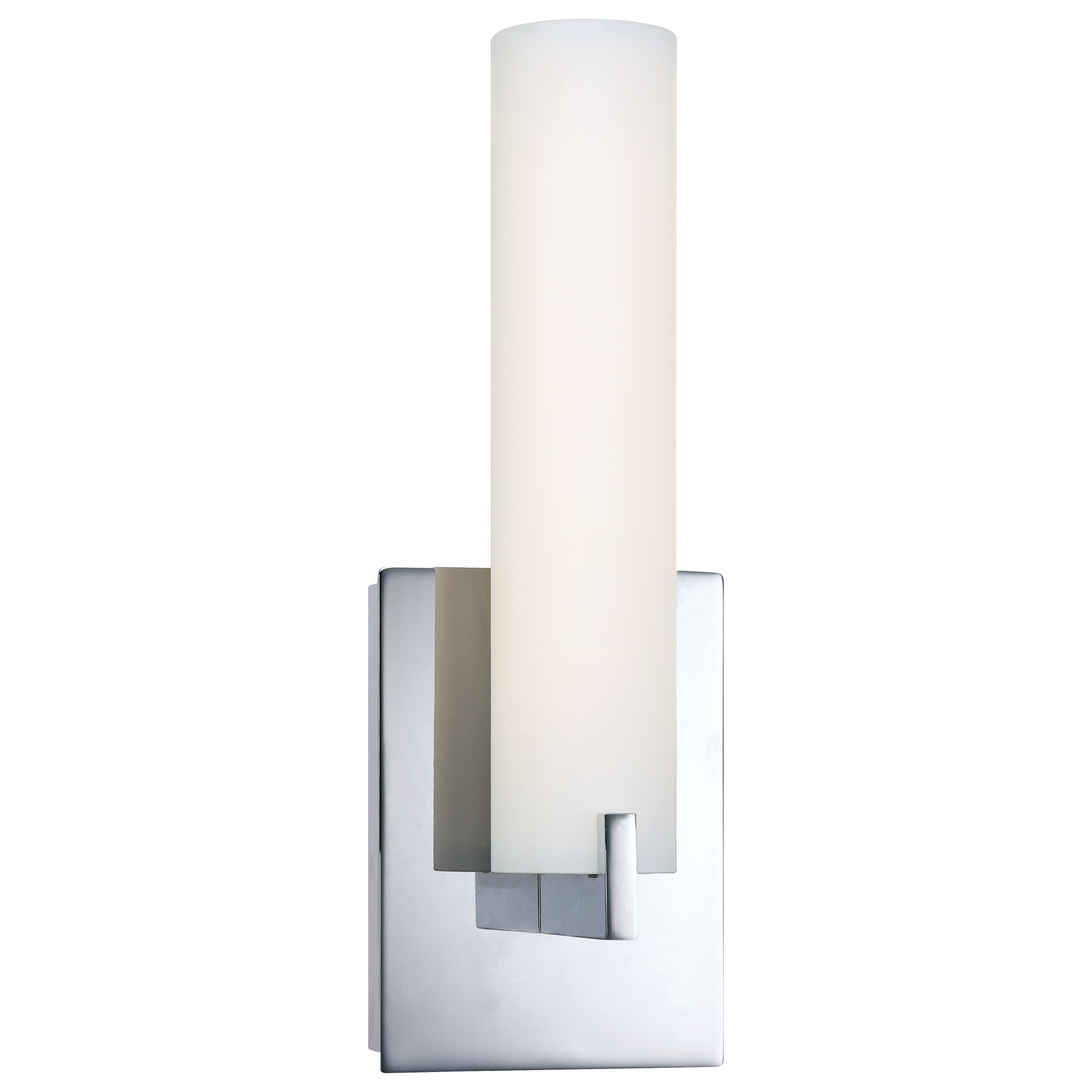 Tube led vanity wall sconce by george kovacs p5040 077 l for Contemporary bathroom wall sconces