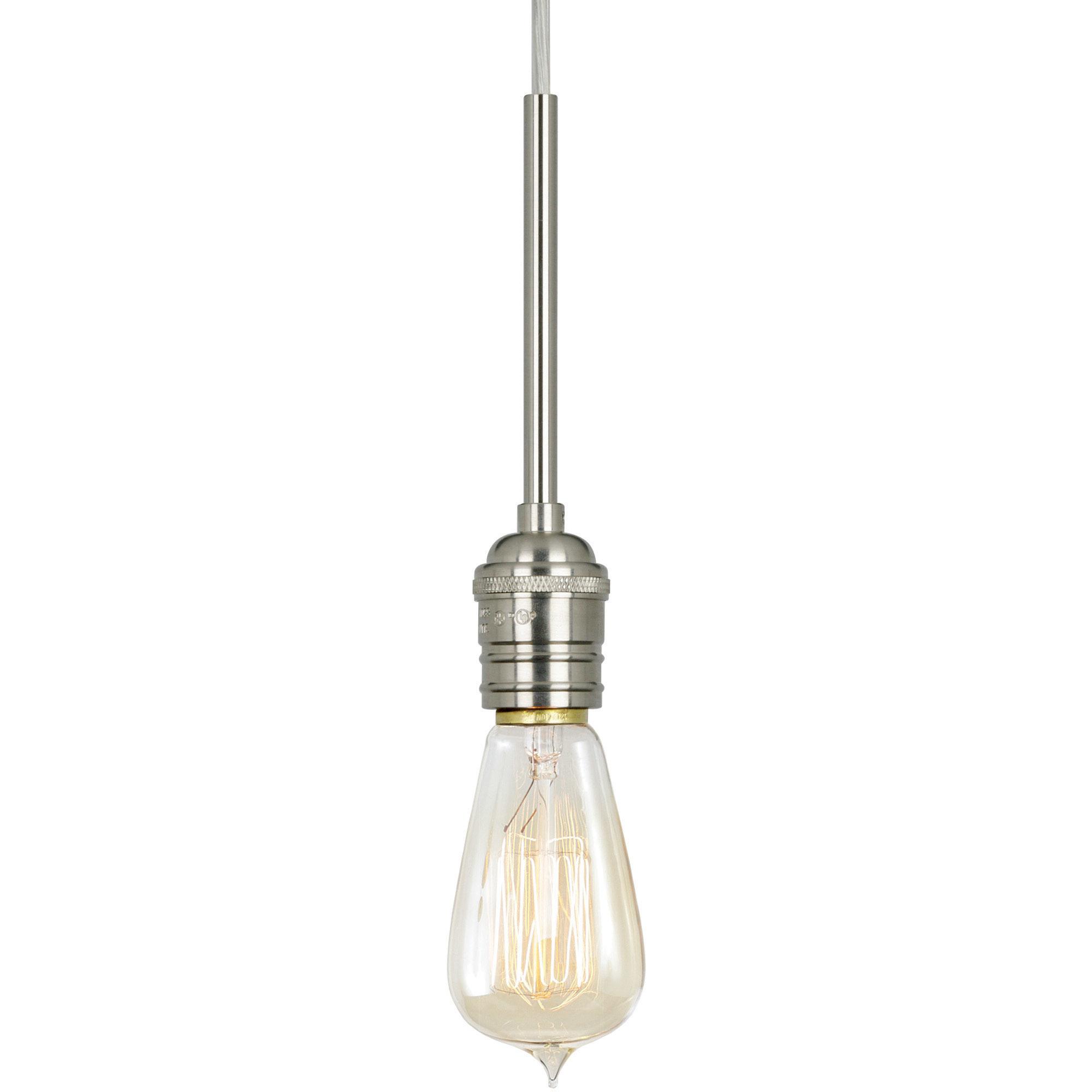 Retro Edison Pendant By Stone Lighting Pd157bpnrt6bm