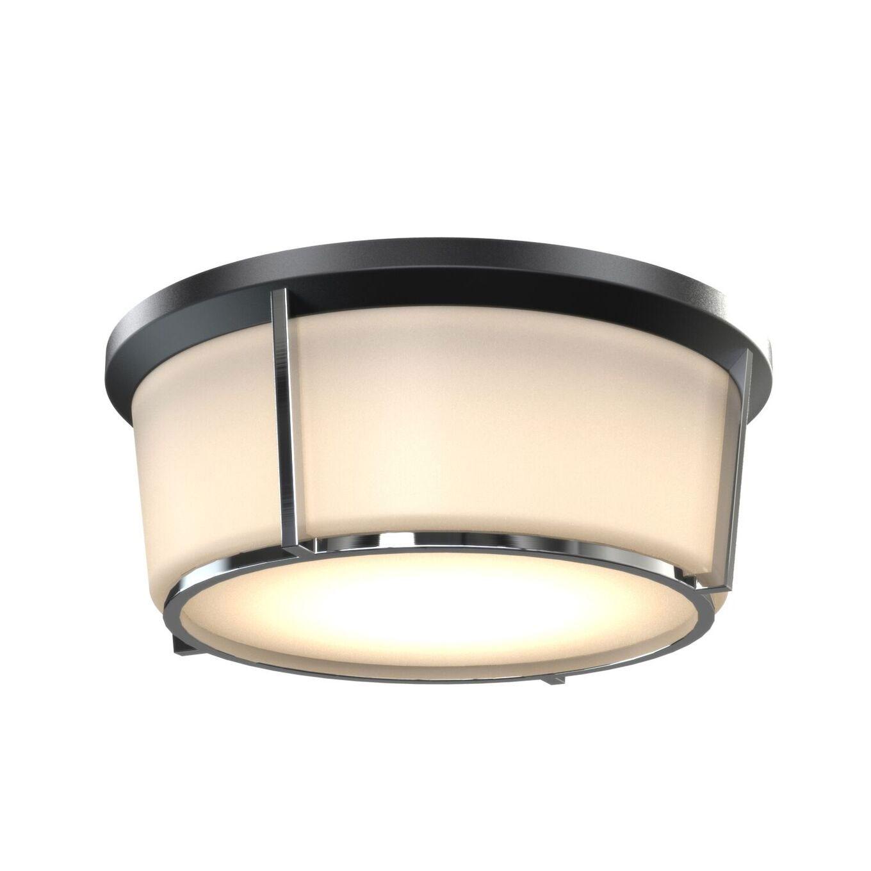 Jarvis Large Flush Mount Ceiling Light By Dvi Lighting Dvp21938bk