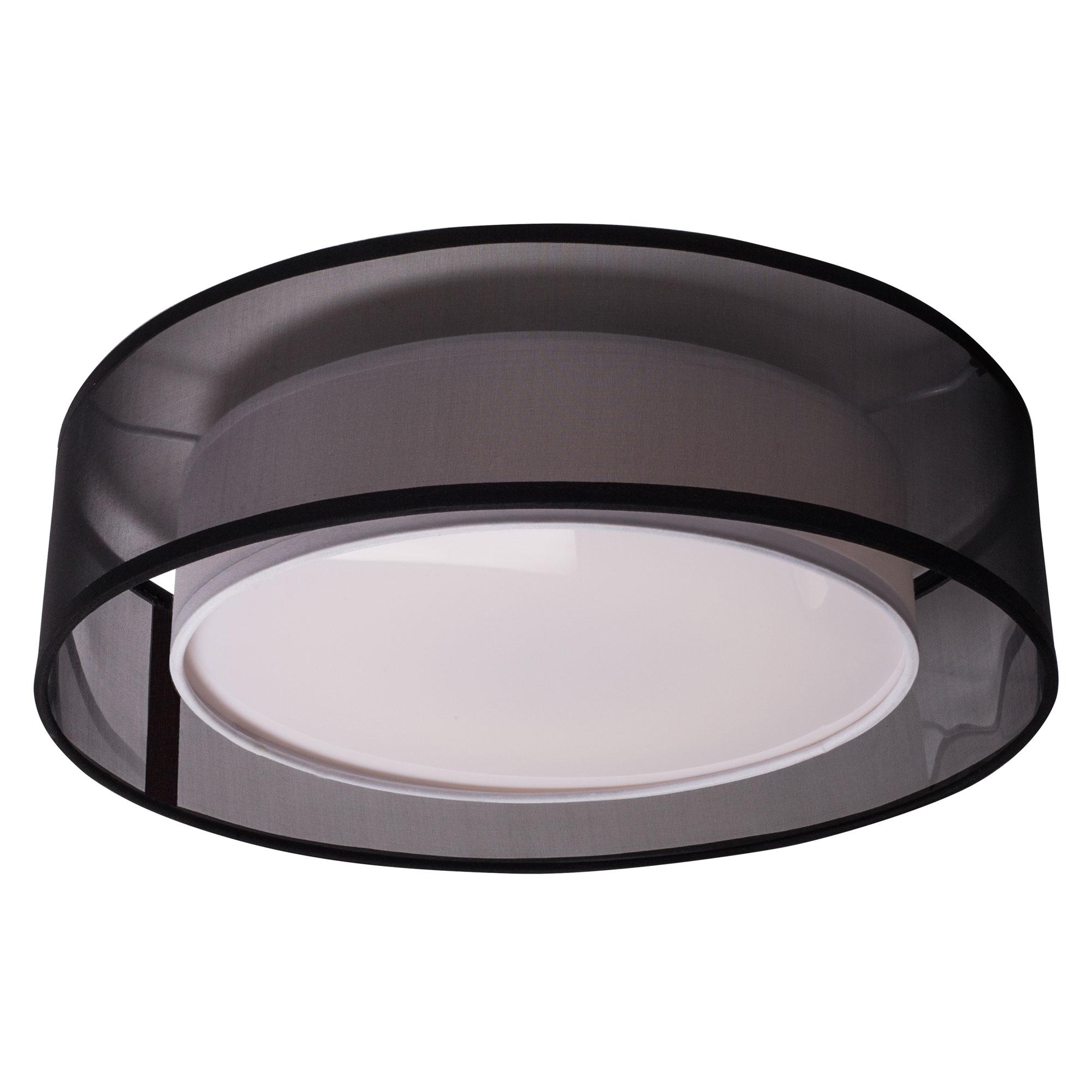 Covina Round Ceiling Light Fixture by Kuzco Lighting | FM11415-BK